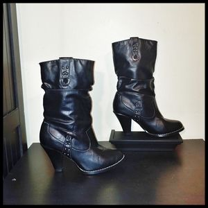 Rampage Black Boots 6